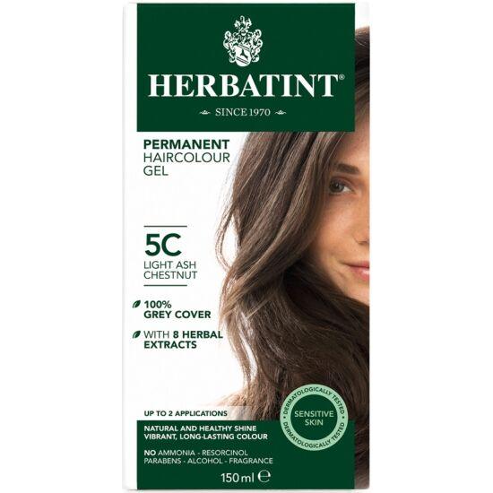 Herbatint Hajfesték - 5C Világos hamvas gesztenye 150ml