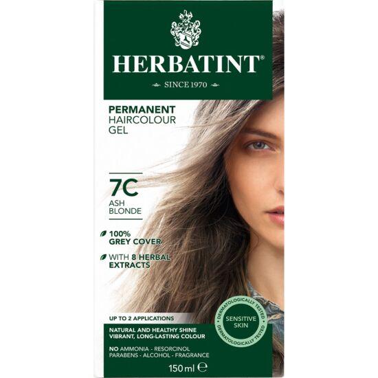 Herbatint Hajfesték - 7C Hamvas szőke 150ml