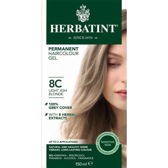 Herbatint Hajfesték - 8C Világos hamvas szőke 150ml