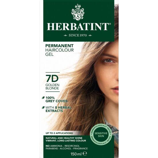 Herbatint Hajfesték - 7D Aranyszőke 150ml