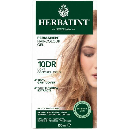Herbatint Hajfesték - 10DR Világos réz-arany 150ml