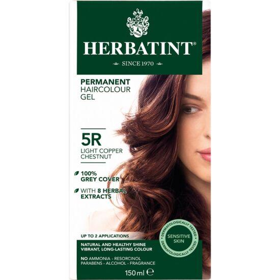 Az R (Réz) árnyalatok gazdag, melegvörös ragyogást adnak a hajnak. A Herbatint hajfesték gél könnyen keverhető és alkalmazható zselés állagának és szagtalan formulájának köszönhetően. Tökéletes színeredmény mindössze 40 perc alatt. A Herbatint gyengéd for