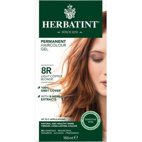 Herbatint Hajfesték - 8R Réz világos szőke 150ml