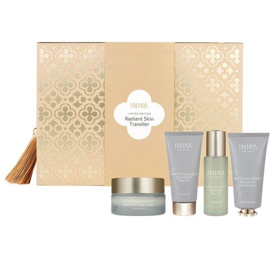 Inika Skincare Gift Set - Radiant Skin Traveler utazó bőrápoló szett