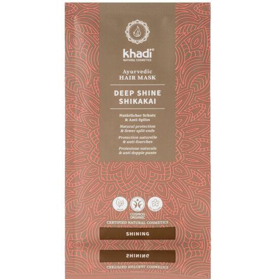 Khadi Ayurvedic Hair Mask - Shine Shikakai 50g