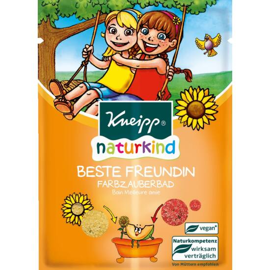 Kneipp Naturkind Színes fürdőkristály - Legjobb barátnő 40g