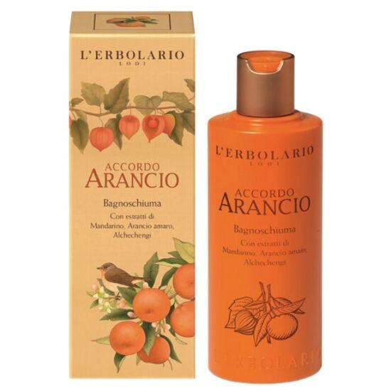 L'Erbolario Accordo Arancio illatú tusfürdő 250ml