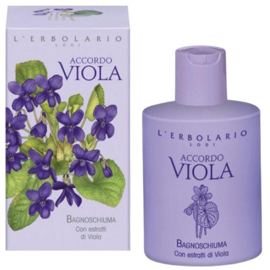 L'Erbolario Accordo Viola illatú bőrtápláló tusfürdő 300ml