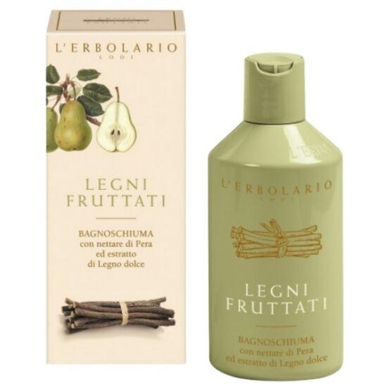 L'Erbolario Fruits & Woods illatú tápláló tusolózselé 250ml