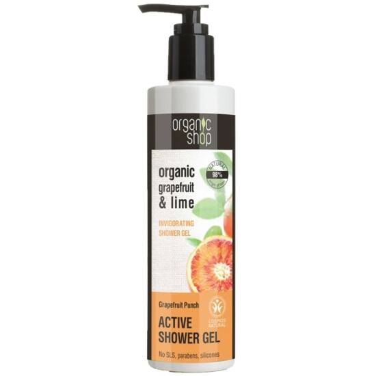 "Organic Shop Active tusfürdõ ""Grapefruit punch"" 280ml"