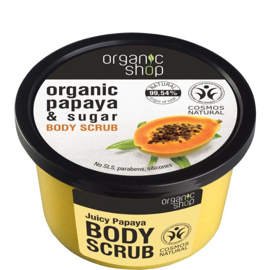 Organic Shop Cukros testradír Papaya juice 250ml