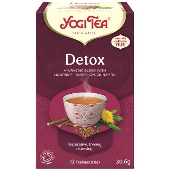 Yogi Tea Méregtelenítő, 17 filter x 1.8g (30.6g)