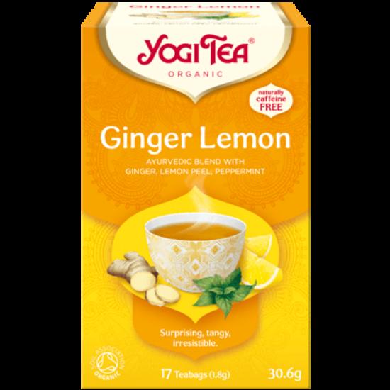 Yogi Tea Citromos gyömbér, 17 filter x 1.8g (30.6g)