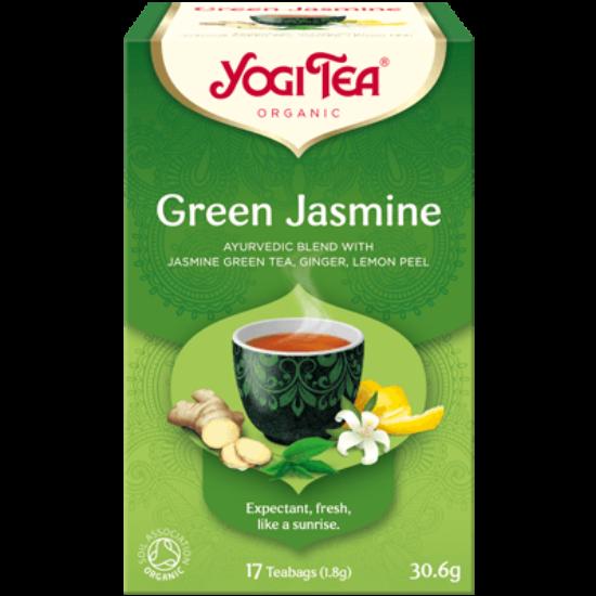 Yogi Tea Zöld jázmin, 17 filter x 1.8g (30.6g)
