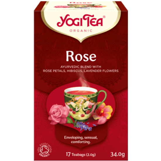 Yogi Tea Rózsa, 17 filter x 2g (34g)