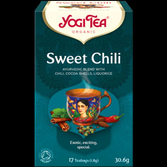 Yogi Tea Édes chili, mexikói fűszerez, 17 filter x 1.8g (30.6g)