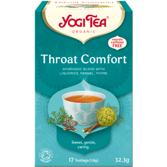 Yogi Tea Toroknyugtató, 17 filter x 1.8g (30.6g)