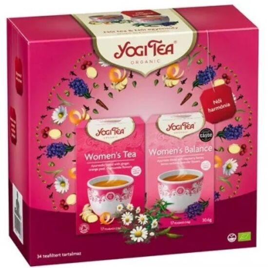Yogi Ajándékcsomag Yogi teákkal - Női harmónia 2 x 17 filter (61,2g)