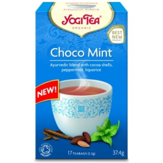 Yogi Tea Csokoládé - menta , 17 filter x 2.2g (37.4g)