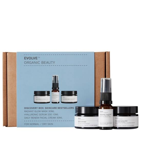Evolve Organic Beauty Bőrápoló trió csomag