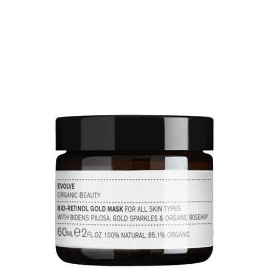 Evolve Organic Beauty Bio-retinol bőröregedésgátló arany maszk 60ml