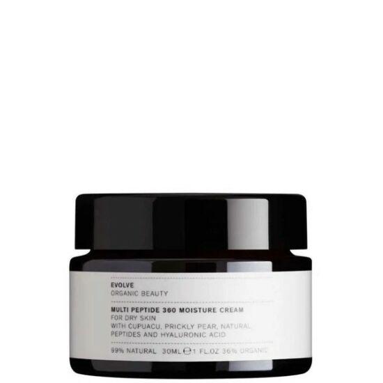 Evolve Organic Beauty Bőrfiatalító Multi-peptides arckrém érett bőrre 30ml