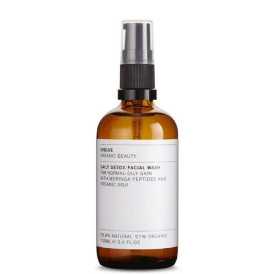Evolve Organic Beauty Daily Detox méregtelenítő lemosó kombinált bőrre 100ml