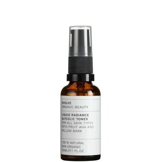 Evolve Organic Beauty Liquid Radiance AHA/BHA hámlasztó tonik 30ml
