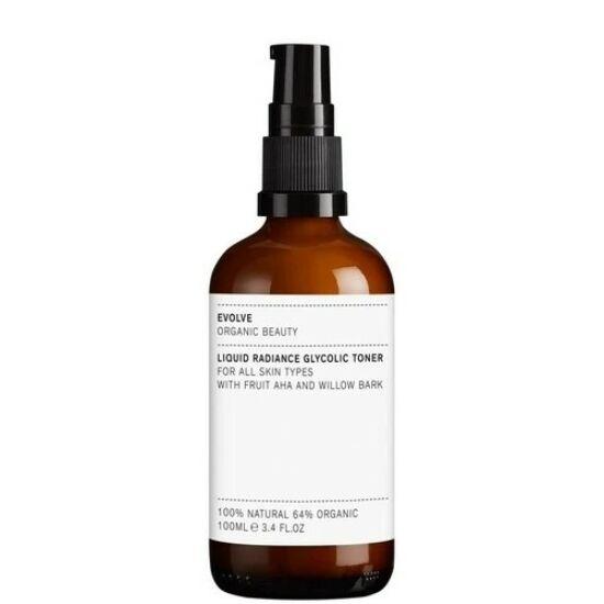 Evolve Organic Beauty Liquid Radiance AHA/BHA hámlasztó tonik 100ml