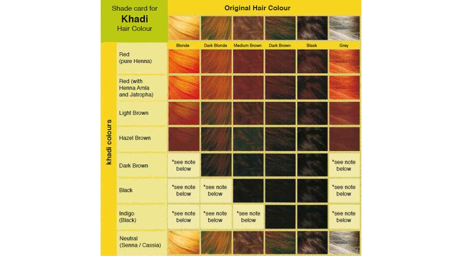 Khadi Nu00f6vu00e9nyi hajfestu00e9k por - su00f6tu00e9tbarna 100g - Hajfestu00e9k - Organic Harmony